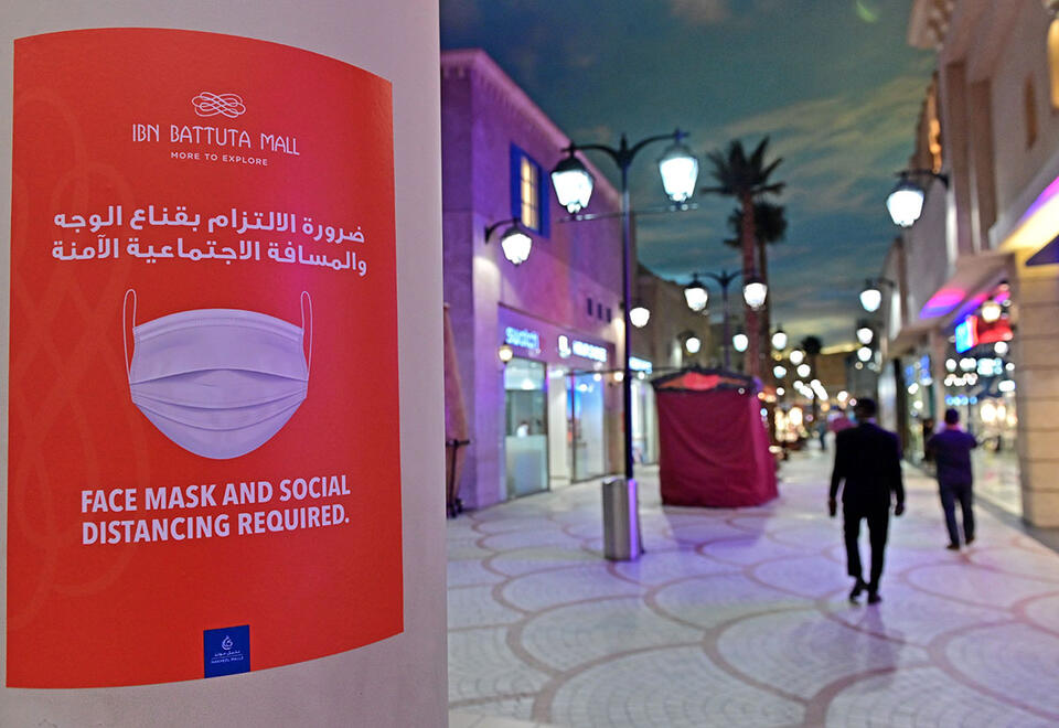 Malls, restaurants in UAE allowed to operate at 60% capacity