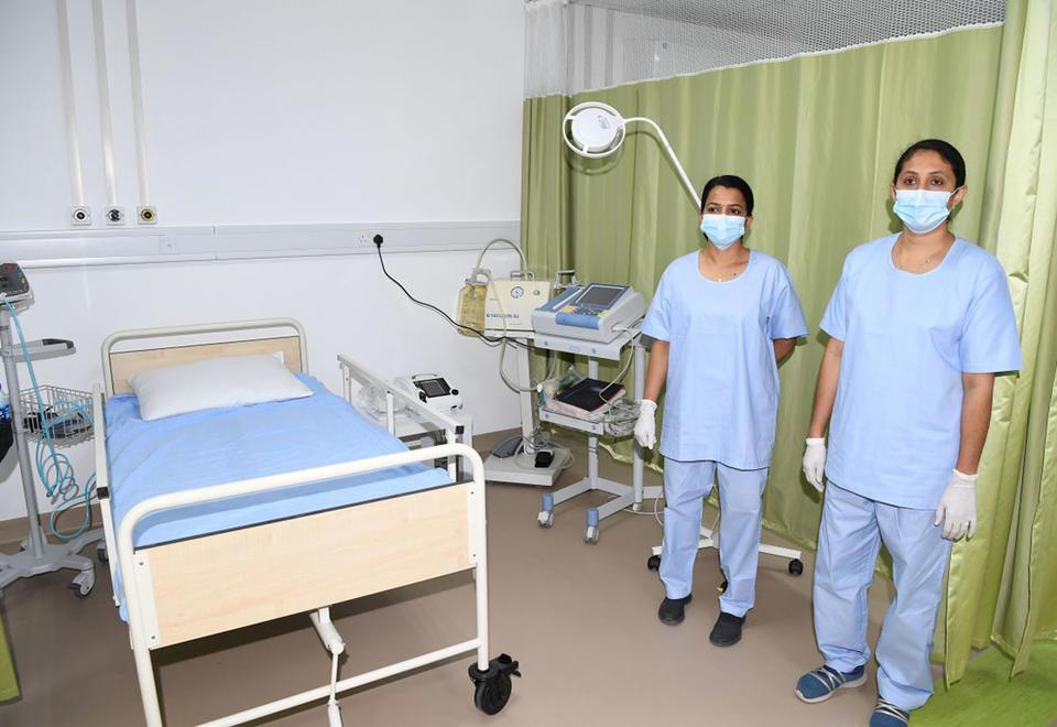 In pictures: Abu Dhabi opens Al Razeen coronavirus field hospital