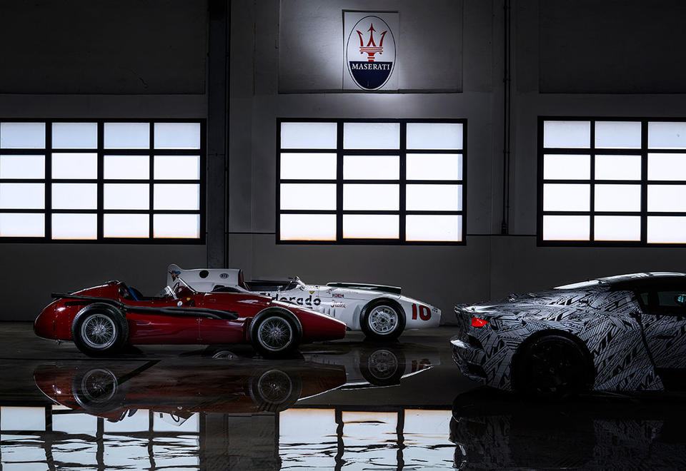 In pictures: Maserati MC20 supercar pays tribute to British racing legend Sir Stirling Moss