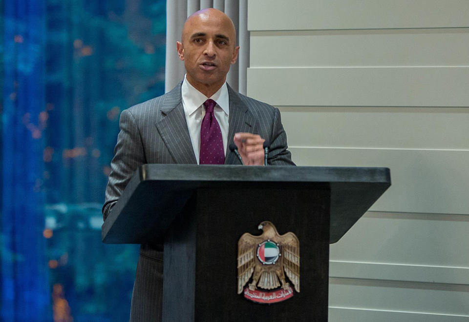 World in 'uncharted territory', says UAE's US ambassador