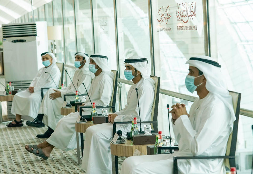 In pictures: Sheikh Hamdan holds executive council meeting at DXB Terminal 3