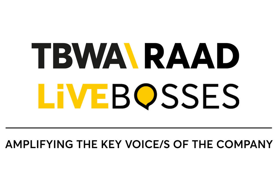 TBWA\RAAD launches Livebosses - a new proprietary service tailored for company leaders to help them communicate effectively on social networks