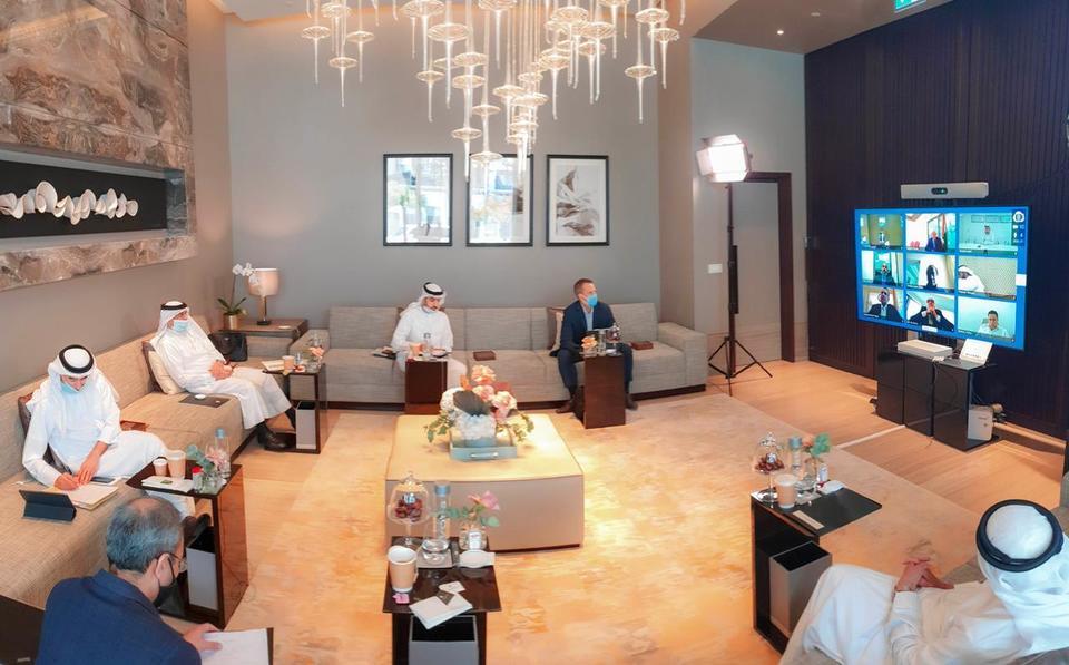 'Prepare for new normal' Alabbar tells contractors