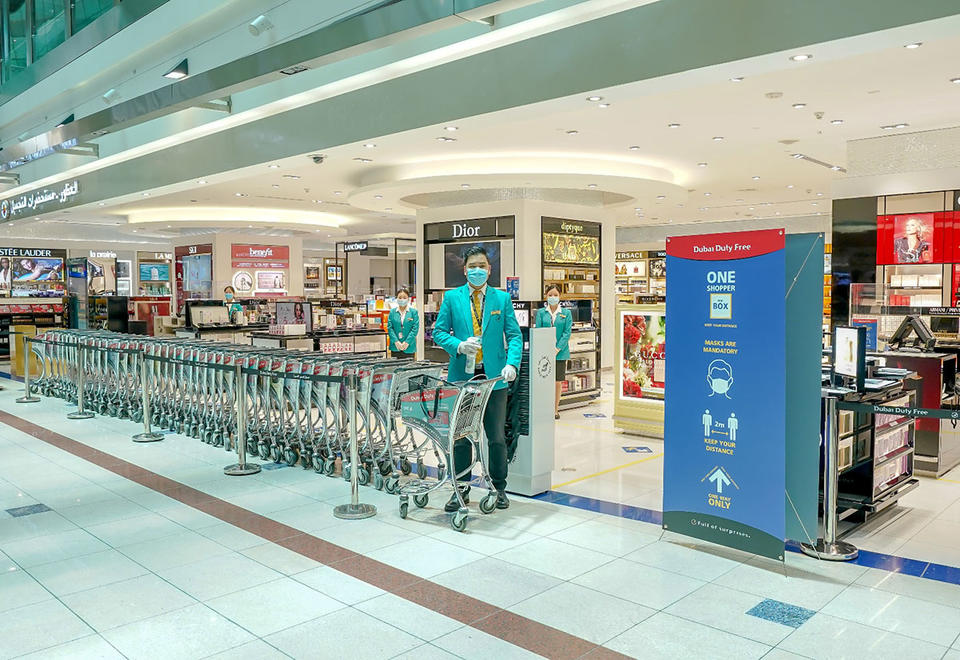 In pictures: Airport retailer Dubai Duty Free partially reopens in Concourse B - West