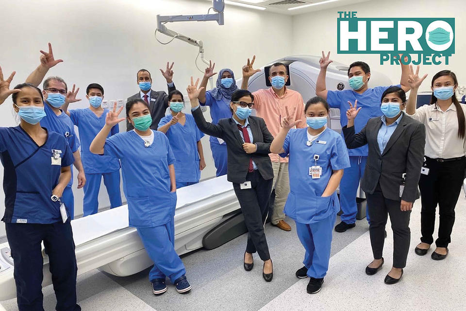The Hero Project: Radiology Department, King's College Hospital Dubai