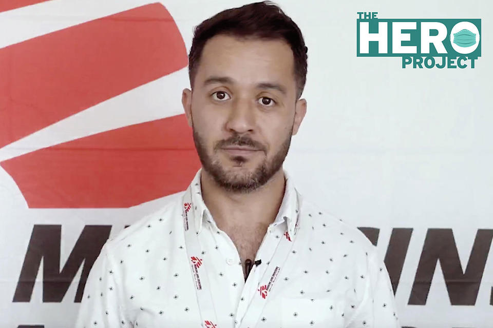 The Hero Project: Rami Malaeb of Medecins Sans Frontieres