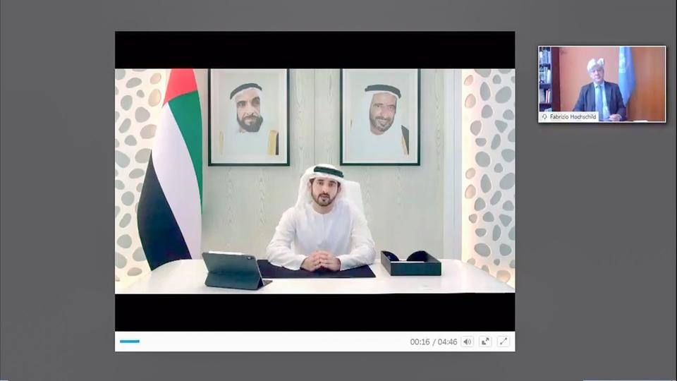 'Invest in what is to come, not what is already here' says Sheikh Hamdan