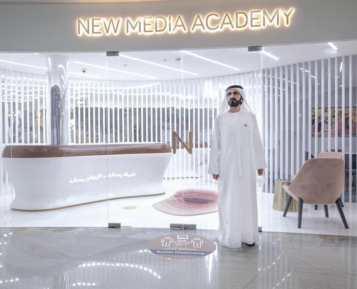 Dubai's Sheikh Mohammed launches New Media Academy