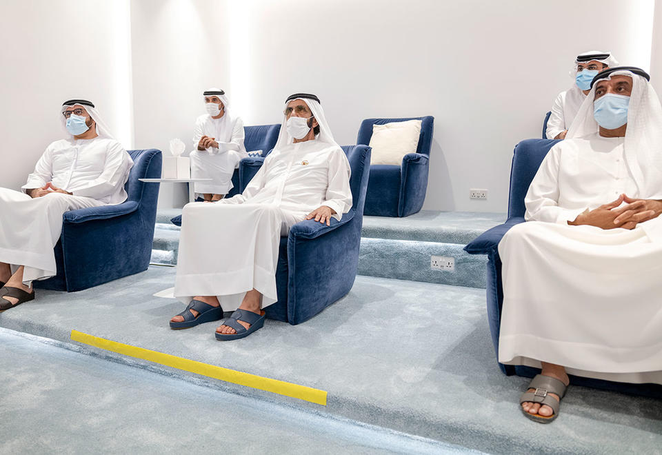In pictures: Dubai Ruler Sheikh Mohammed opens New Media academy