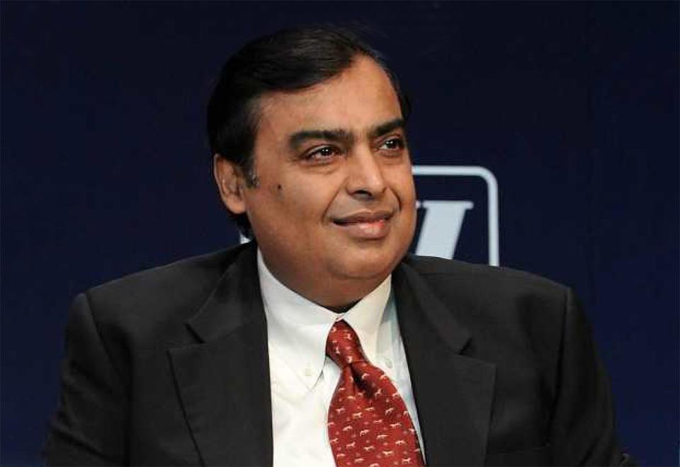 India's Ambani now among world's 10 richest people