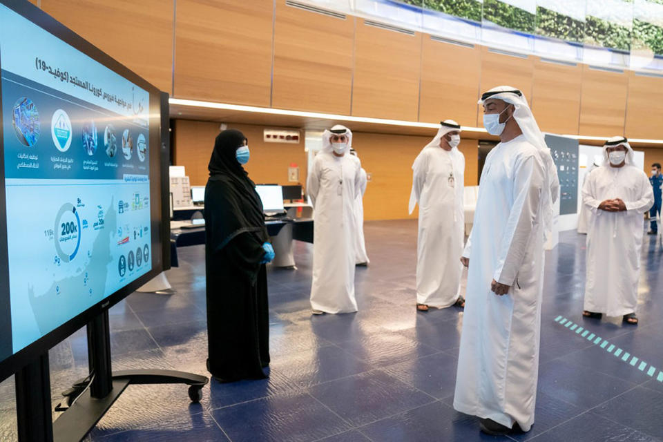 In pictures: Sheikh Mohamed bin Zayed visits Adnoc's facilities in Ruwais