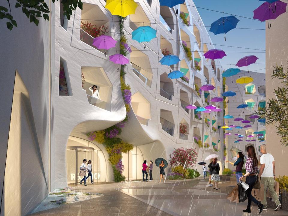 Dubai-based Kleindienst Group reveals plans for 'raining street' on Heart of Europe