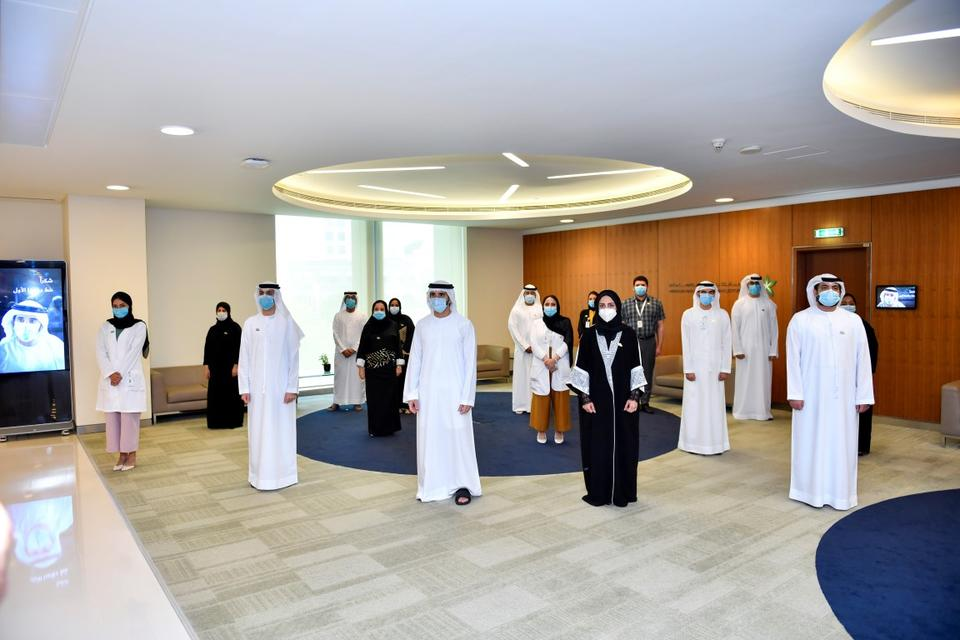 In pictures: Sheikh Hamdan tours Mohammed Bin Rashid University of Medicine and Health Sciences