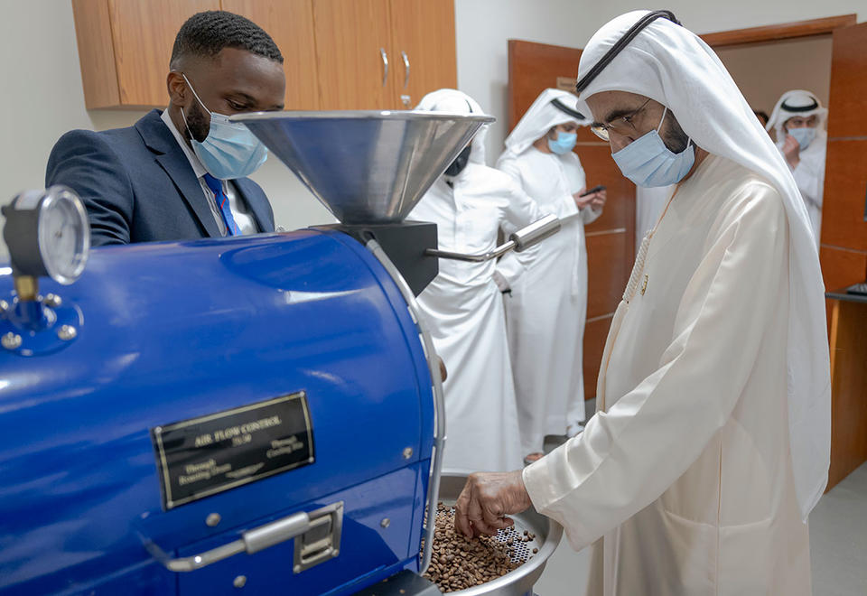 In pictures: Dubai's Sheikh Mohammed tours DMCC's Tea and Coffee Centres