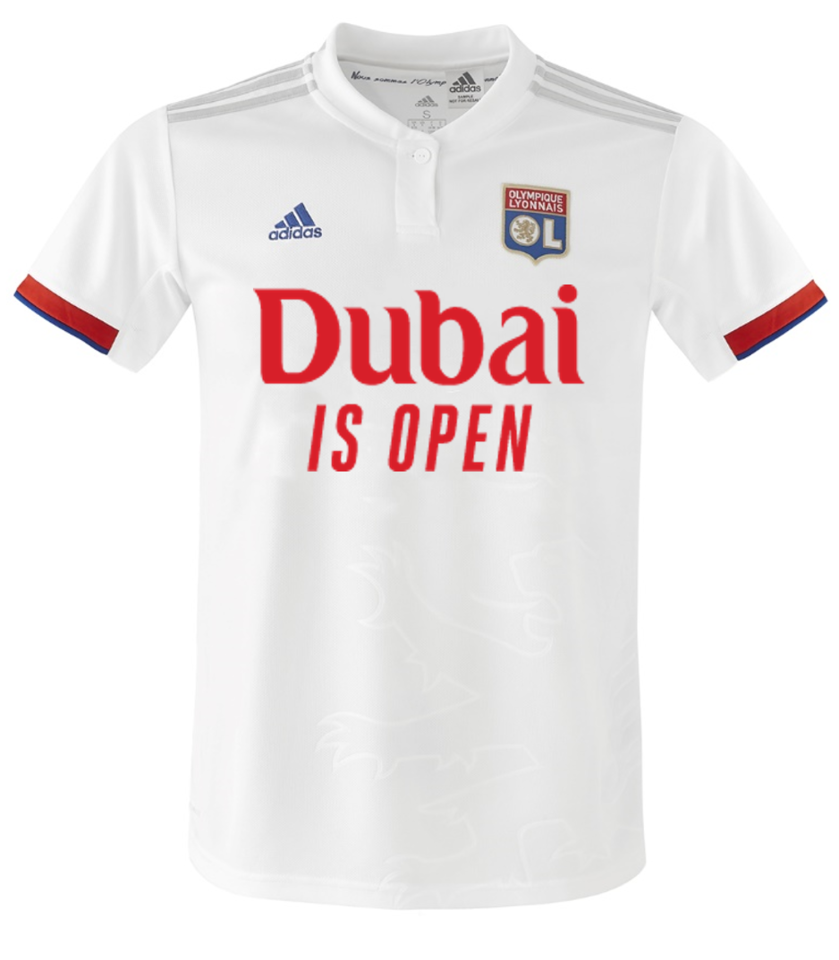 French football club to unveil 'Dubai is Open' jerseys