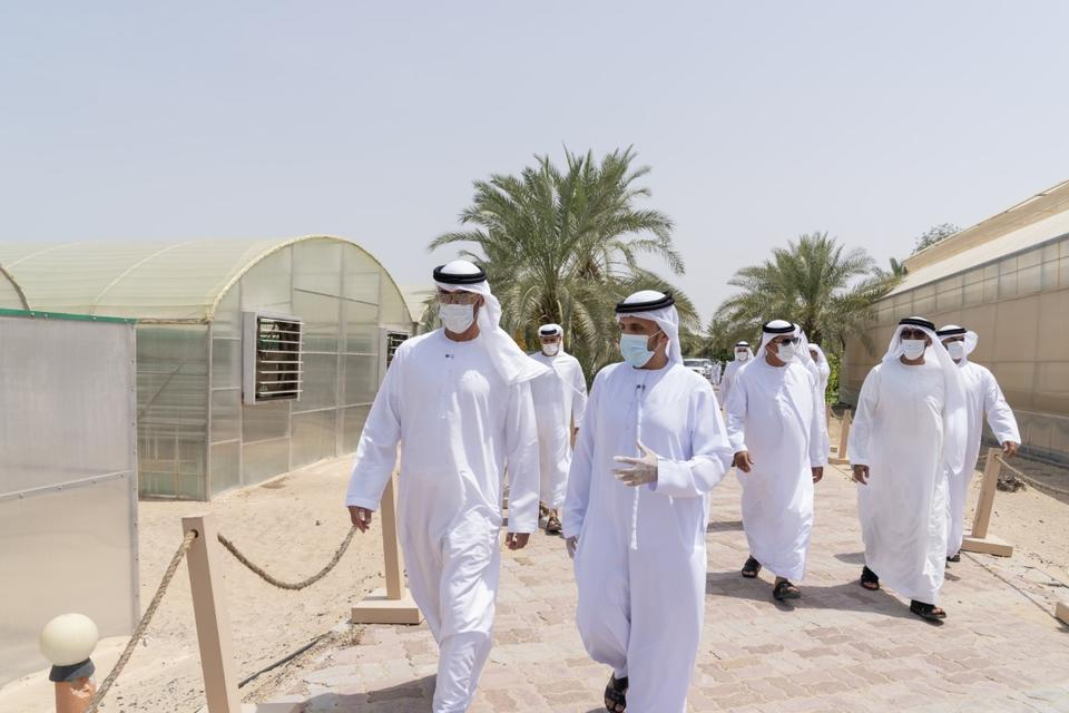 In pictures: Sheikh Mohamed bin Zayed tours model farms in Al Bahia area of Abu Dhabi