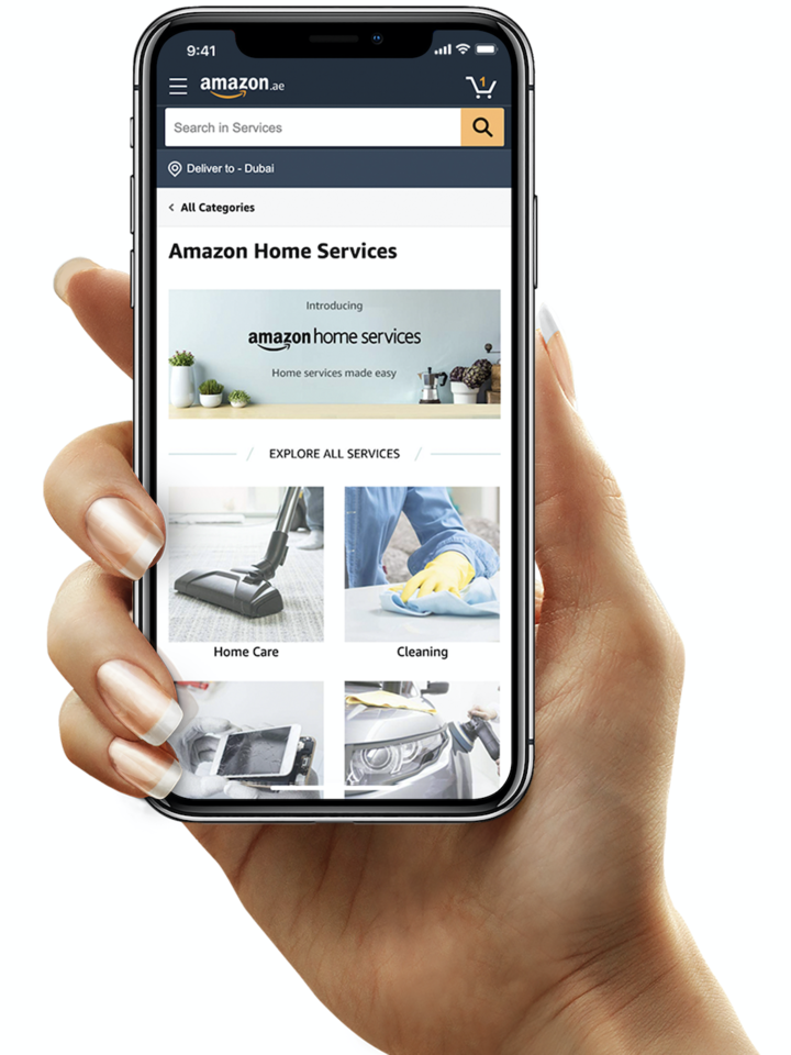 Amazon Home Services launches in UAE