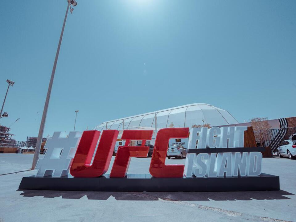 Abu Dhabi's UFC Fight Island rakes in 1.3m pay-per-view buys