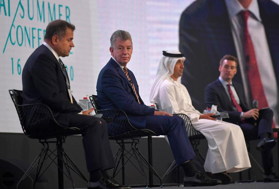 Emirates airline says social distancing on aircraft 'nice' but unrealistic