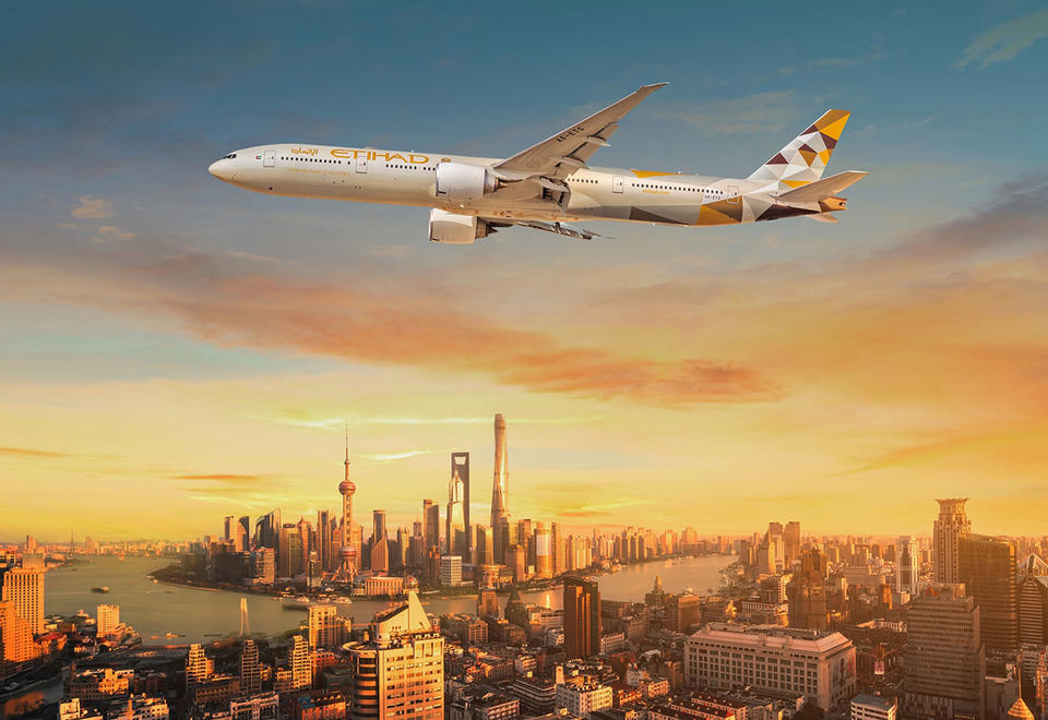 Etihad Airways to resume flights to Shanghai with weekly service
