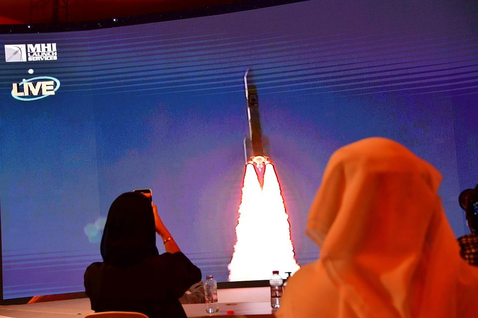 UAE's Mars Hope probe launch kicks off a trio of missions as red planet draws close