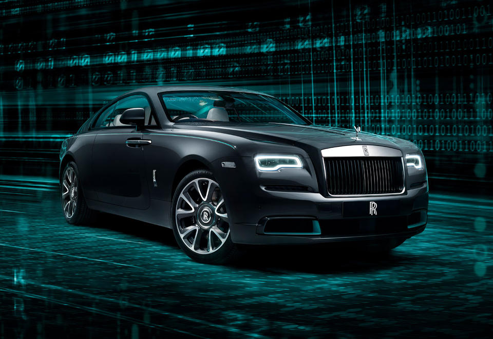 In pictures: New Wraith Kryptos collection from Rolls-Royce