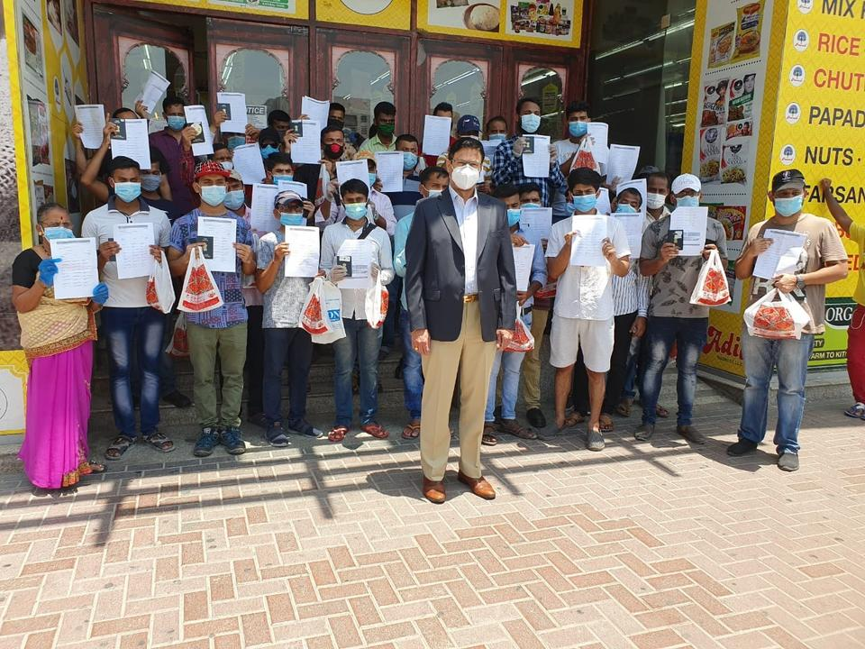 Maharashtrian workers stranded in Dubai begin return journey