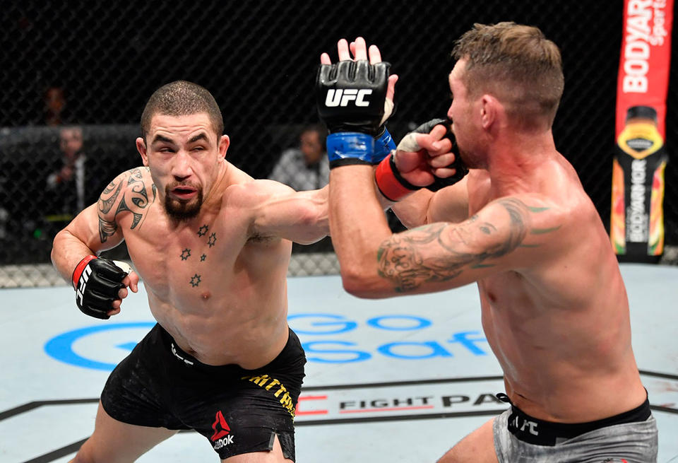 Abu Dhabi's Fight Island draws to a close with win for former champion Whittaker