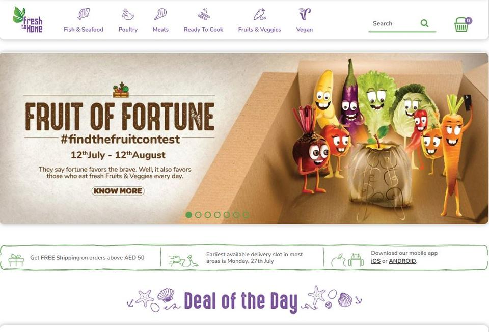 FreshToHome reports 80% growth in daily orders in UAE