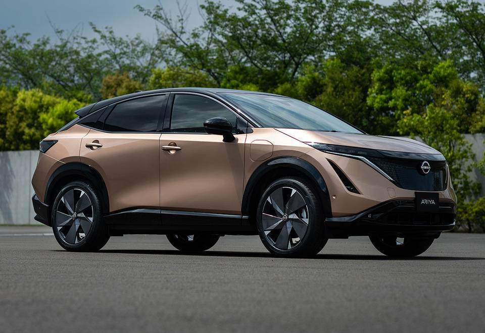 In pictures: Nissan Ariya all new pure-electric crossover SUV