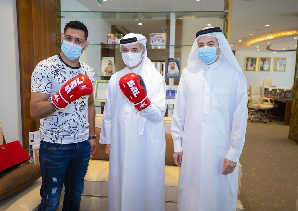 Amir Khan to open boxing academy in Dubai as part of move to emirate