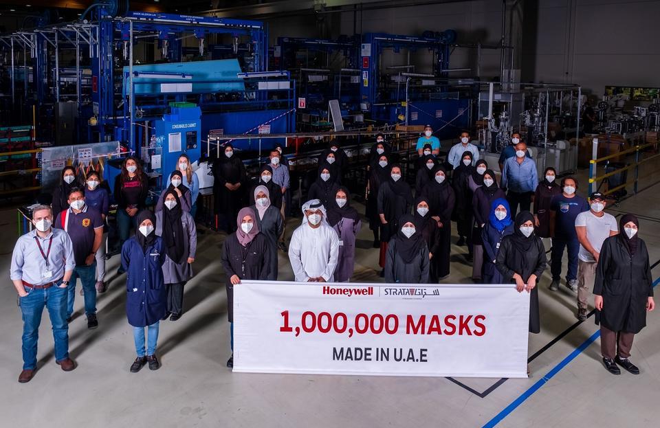 Abu Dhabi facility rolls out one million N95 masks