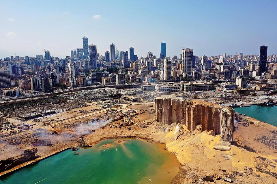 Lebanon's Tripoli port readies to fill in for blast-hit Beirut