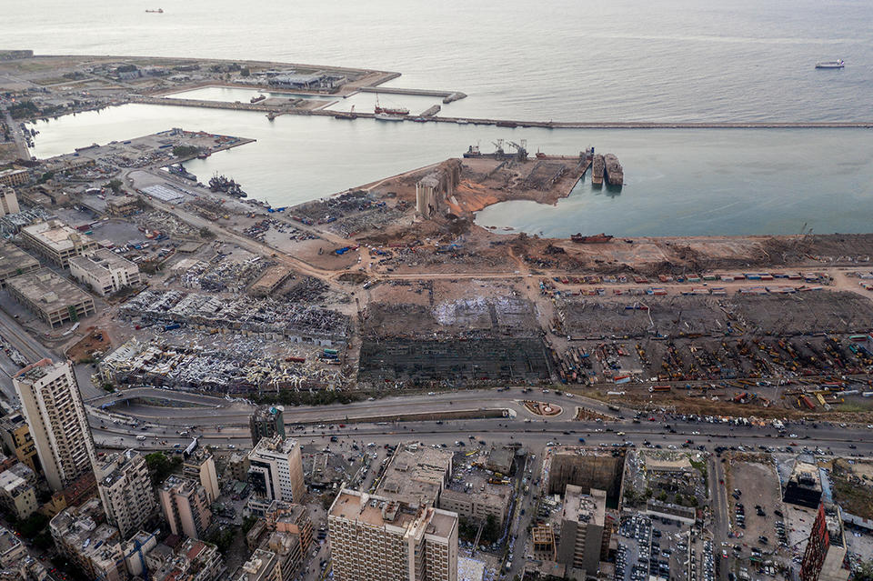 Arrest warrant against top customs official over Lebanon blast
