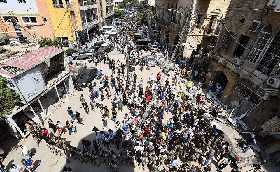 Lebanon's leaders face rage, calls for 'deep change' and reform after blast