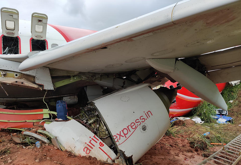Air India Express pilot erred in India crash, aviation watchdog chief suggests