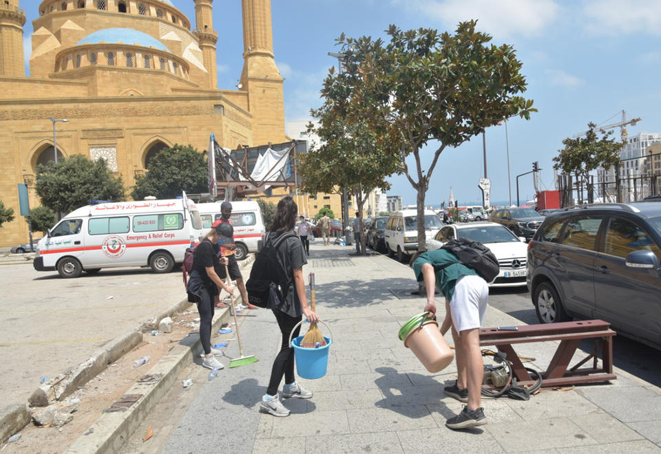 Beirut blast: 'We lost money, business and above all our hope in the country's future'