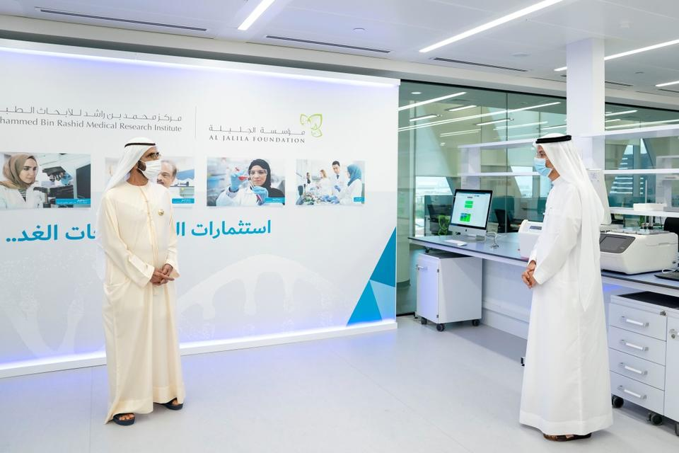 In pictures: Sheikh Mohammed opens medical research centre in Dubai