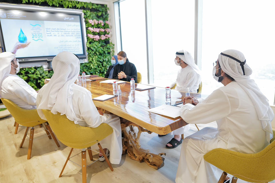 In pictures: Sheikh Mohammed reviews UAE's food and water security plans