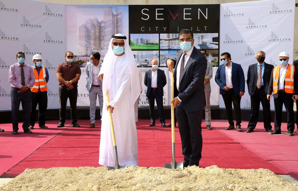 Seven Tides appoints Airolink to build billion dirham Seven City JLT